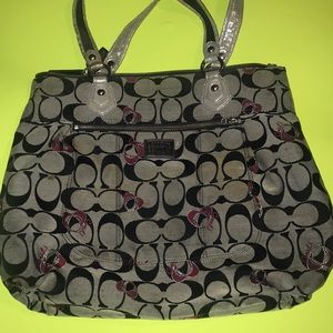 Large Coach Poppy Purse